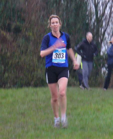 Julie Drake at Lancing XC
