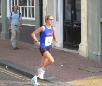 Vicki Boyle life time best at Chichester 10k